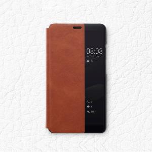 Huawei Mate10 Pro ケース 手帳型 レザー 窓付き シンプル おしゃれ スリム 薄型 シンプル ファーウェイ メイ  mate10pro-k77-t71206|keitaicase