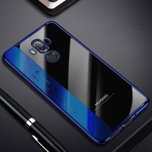Huawei Mate10 Pro クリア ケース メッキベゼル ソフトバンパー クリア TPU メッキ メタル調 ファーウェイ   mate10pro-x89-t71130|keitaicase