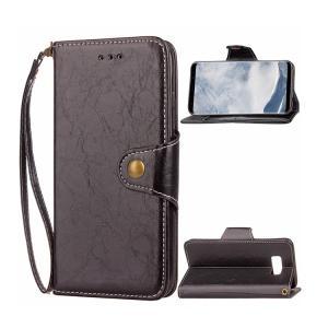 Samsung Galaxy Note8 ケース 手帳型 レザー カード収納 ストラップ付き シンプル スリム おしゃれ ギスマートフォン/スマフォ/スマホケース/カバー|keitaicase