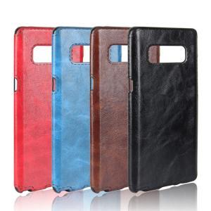 Galaxy Note8 ケース レザー ヴィンテージ風 スリム 背面カバー シンプルでスリム ギャラクシーノートスマートフォン/スマフォ/スマホケース/カバー|keitaicase