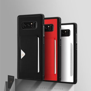 Samsung Galaxy Note8 ケース TPU 耐衝撃 レザー調 カード収納 シンプル ベーシック ギャラクシーノート8  note8-31-l70822|keitaicase