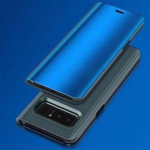 Samsung Galaxy Note8 ケース 二つ折り  液晶ガード フタに応答操作可能 液晶保護 半透明 ギャラクシー   note8-sam03-w71020|keitaicase
