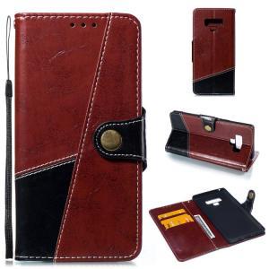 samsung Galaxy Note9 ケース/カバー 手帳型 レザー カバー カード収納付き ストラップホール付き ギャラクシ  note9-307-l80716|keitaicase