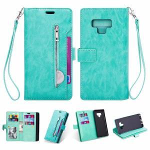 samsung Galaxy Note9 ケース/カバー 手帳型 レザー カバー カード収納付き ストラップホール付き ギャラクシ  note9-323-l80730|keitaicase