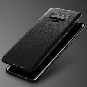 Galaxy Note9 ケース TPU シンプル ベーシック レザー調 ギャラクシーノート9 ソフトケース note9-lz06スマートフォン/スマフォ/スマホケース/カバー keitaicase