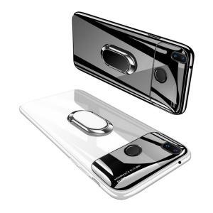 Huawei P20 lite PCケース カバー 背面強化ガラス 背面カバー リング付き ファーウェイ P20 ライト  スマートフォン/スマフォ/スマホケース/カバー keitaicase