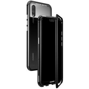 Huawei P20 lite  ケース カバー アルミ バンパー 強化ガラス 背面パネル付き アルミ かっこいい ファーウェイ   p20lite-lf02-w80601|keitaicase