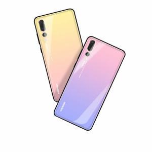 Huawei P20 PRO シリコンケース カバー 背面強化ガラス 背面カバー かっこいい P20プロ ソフトケース おすすめ  HW-01K|keitaicase