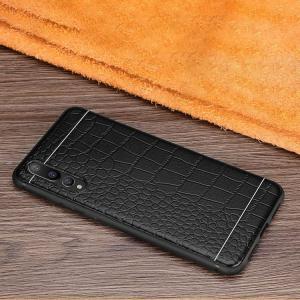 Huawei P20 Pro ケース シリコン カバー クロコダイル調 ファーウェイP20プロ カバー ソフトケース おすすめ お  HW-01K|keitaicase