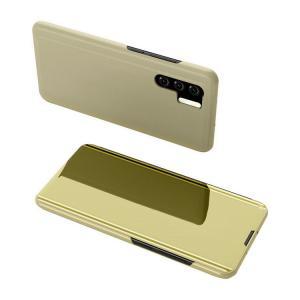 HUAWEI P30/P30 Pro ケース カバー 2つ折り 液晶保護 パネル 半透明 ファーウェ...