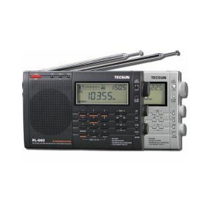 シンプルFMラジオ・エアバンド/短波/MW/LW/FMラジオ 高感度オールバンドレシーバーブラック pl660|keitaicase