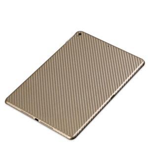 apple iPad pro 10.5 インチ ケース カーボン調 バックフィルム アイパッドプロ 背面保護フィルム プロテクター  pro105-m56-t70619|keitaicase