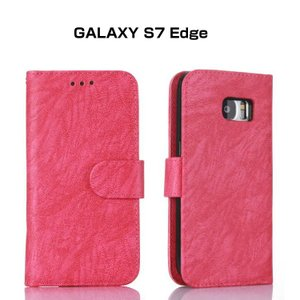 GALAXY S7 Edge ケース 手帳 レザー カバー 分割式 セパレートタイプ おしゃれな  ギャラクシーS7 edge 手  s7edge-53-l60526|keitaicase