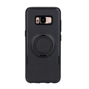 Samsung Galaxy S8+ ケースgalaxy s8 plus 耐衝撃 シリコン 片手持ち スマホリング付き かっこいい ギャラクシーS8 プラスSC-03J docomo SCV35 au keitaicase