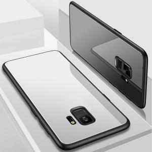 Galaxy S9 ケース TPU バンパー 背面強化ガラス 背面パネル付き かっこいい ギャラクシーS9 サイド SC-02K / SCV38スマートフォン/スマフォ/スマホバンパー keitaicase