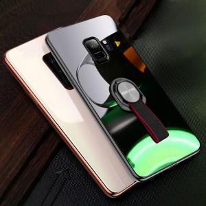 Galaxy S9 ケース TPU バンパー 背面強化ガラス 背面パネル付き カバー かっこいい ギャラクシーS9/SC-02K / SCV38スマートフォン/スマフォ/スマホバンパー keitaicase