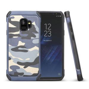 samsung Galaxy S9 ケース シリコン プラスチック 耐衝撃 迷彩 ギャラクシーS9 タフで頑丈な2重構造 耐衝撃カ/SC-02K / SCV38スマホケース keitaicase