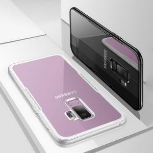 Samsung Galaxy S9+ ケース/カバー TPU バンパー 背面強化ガラス 背面パネル付き かっこいい ギャラクシー/SC-03K / SCV39|keitaicase