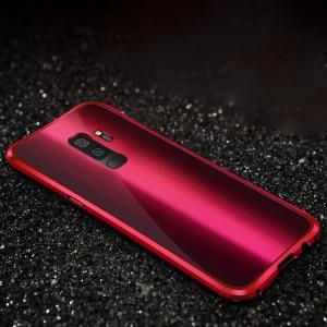 Samsung Galaxy S9+ ケース アルミ バンパー 背面パネル付き かっこいい メタル ギャラクシーS9+ /SC-03K / SCV39|keitaicase