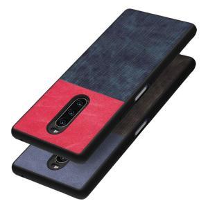 Sony Xperia 1 ケース TPU ソフトケース デニム柄 シンプル エクスぺリア 1 ケース おすすめ おしゃれ アンドロイド スマフォ スマホ スマートフォンケース/カバ|keitaicase