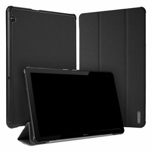 Huawei MediaPad T5 ケース/カバー 手帳型 レザー 耐衝撃  スタンド機能 メディアパッド T5 ブック型 手帳  t510-dd01-w81008 keitaicase