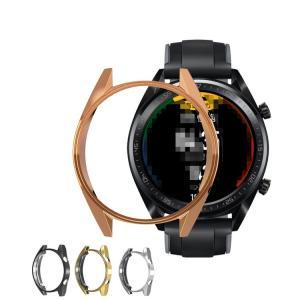 Huawei Watch GT 46mm用 TPU クリアカバー メッキ シンプルでおしゃれソフトカバー ファーウェイ ハーウェイ ホアウェイ|keitaicase