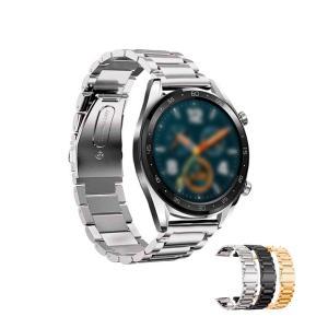 Huawei Watch GT用 交換バンド 高級ステンレス ベルト Fファーウェイウォッチ GT メタル 交換リストバンド|keitaicase