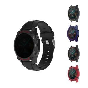 Huawei Watch GT 2 46mm ケース/カバー 耐衝撃 シリコン TPU クリア ファ...