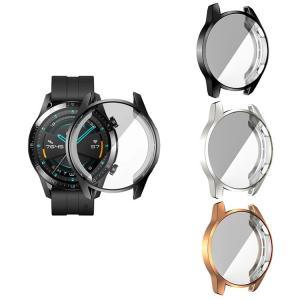 Huawei Watch GT 2 46mm ケース/カバー TPU クリア ファーウェイウォッチ ...