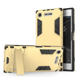 Xperia XZ1 ケース 耐衝撃 タフで頑丈 2重構造 TPU素材 エクスペリアXZ1 耐衝撃カバー スタンド アンドロイド   xz1-gtx07-w71013|keitaicase