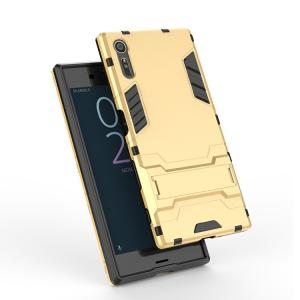 Xperia XZs ケース 耐衝撃 タフで頑丈 2重構造 TPU素材 エクスペリアXZs 耐衝撃カバー スタンド おすすめ おし  xzs-gtx05-w70520|keitaicase