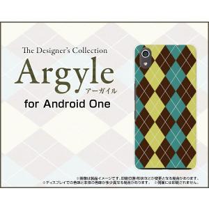 Android One S4 アンドロイド ワン エスフォー Y!mobile スマホ ケース/カバー Argyle(アーガイル) type001 あーがいる 格子 菱形 チェック keitaidonya