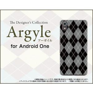 Android One S4 アンドロイド ワン エスフォー Y!mobile スマホ ケース/カバー Argyle(アーガイル) type002 あーがいる 格子 菱形 チェック keitaidonya