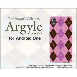 Android One S4 アンドロイド ワン エスフォー Y!mobile スマホ ケース/カバー Argyle(アーガイル) type006 あーがいる 格子 菱形 チェック keitaidonya