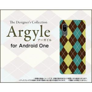 Android One S7 アンドロイド ワン エスセブン スマホ ケース/カバー Argyle(アーガイル) type001 あーがいる 格子 菱形 チェック|keitaidonya