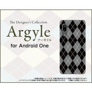 Android One S7 アンドロイド ワン エスセブン スマホ ケース/カバー Argyle(アーガイル) type002 あーがいる 格子 菱形 チェック|keitaidonya