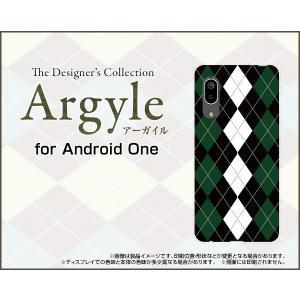 Android One S7 アンドロイド ワン エスセブン スマホ ケース/カバー Argyle(アーガイル) type004 あーがいる 格子 菱形 チェック|keitaidonya
