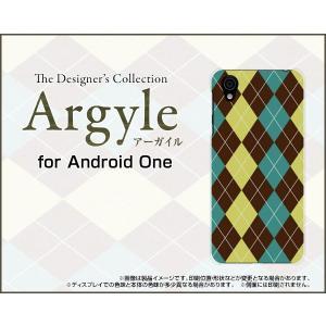 Android One X4 アンドロイド ワン エックスフォー Y!mobile スマホ ケース/カバー Argyle(アーガイル) type001 あーがいる 格子 菱形 チェック keitaidonya