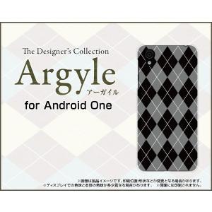 Android One X4 アンドロイド ワン エックスフォー Y!mobile スマホ ケース/カバー Argyle(アーガイル) type002 あーがいる 格子 菱形 チェック keitaidonya