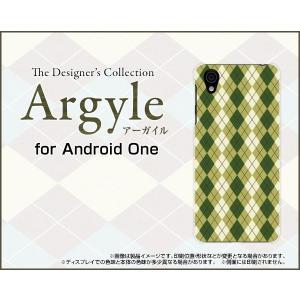 Android One X4 アンドロイド ワン エックスフォー Y!mobile スマホ ケース/カバー Argyle(アーガイル) type005 あーがいる 格子 菱形 チェック keitaidonya