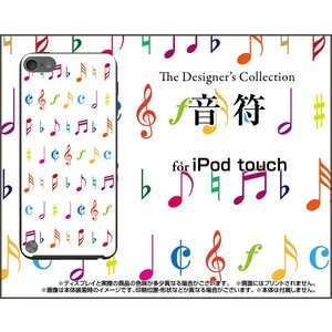 iPod touch 6 ケース/カバー 音符...