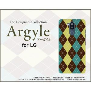 LG style2 エルジー スタイルツー L-01L docomo スマホ ケース/カバー Argyle(アーガイル) type001 あーがいる 格子 菱形 チェック|keitaidonya