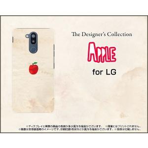 LG style2 エルジー スタイルツー L-01L docomo TPU ソフトケース/ソフトカバー APPLE リンゴ 林檎|keitaidonya