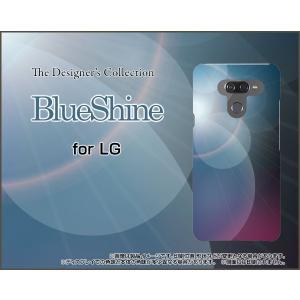LG K50 エルジー ケイフィフティー SoftBank スマホ ケース/カバー BlueShin...