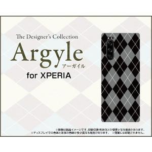 XPERIA 5 SO-01M SOV41 エクスペリア ファイブ スマホ ケース/カバー Argyle(アーガイル) type002 あーがいる 格子 菱形 チェック|keitaidonya