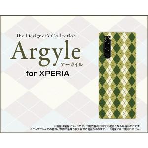 XPERIA 5 SO-01M SOV41 エクスペリア ファイブ スマホ ケース/カバー Argyle(アーガイル) type005 あーがいる 格子 菱形 チェック|keitaidonya