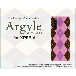 XPERIA 5 SO-01M SOV41 エクスペリア ファイブ スマホ ケース/カバー Argyle(アーガイル) type006 あーがいる 格子 菱形 チェック|keitaidonya