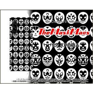 XPERIA 5 SO-01M SOV41 エクスペリア ファイブ スマホ ケース/カバー The Mask Mans(ブラック) マスク 覆面 プロレス|keitaidonya