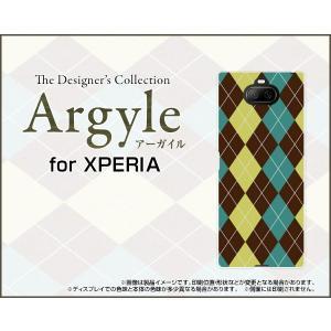 XPERIA 8 SOV42 エクスペリア エイト スマホ ケース/カバー Argyle(アーガイル) type001 あーがいる 格子 菱形 チェック keitaidonya