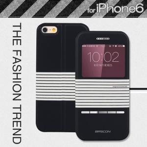 iPhone6 ケース レザー 手帳 アイホン 6 カバー 画面保護 革/軽量/薄 本体の傷つきガード 保護ケース/保護カバー プ  iphone6-l20-t40912|keitaiichiba